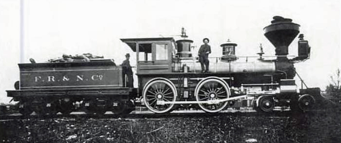 Photo of Engine No. 46, built in 1885